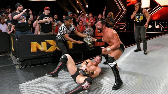 The Undisputed Era won the NXT tag team titles this week