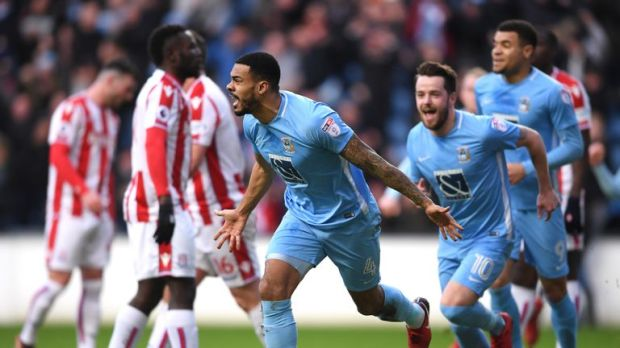 Coventry knocked Stoke out of the FA Cup on Saturday