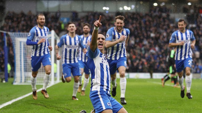 Knockaert is a hugely popular member of the Seagulls' squad