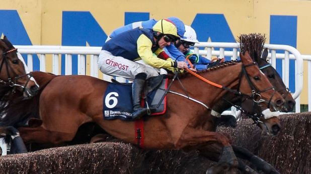 Davy Russell riding The Storyteller