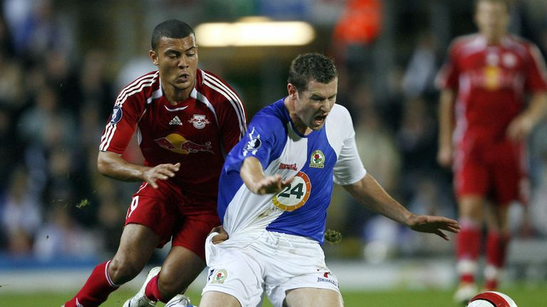 Blackburn Rovers Played Rb Salzburg In The Uefa Cup In