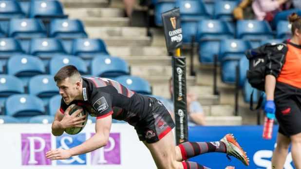 Blair Kinghorn has developed into a star performer for Edinburgh