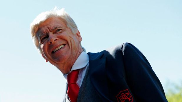Wenger won three Premier League titles as Arsenal boss