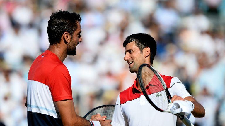 Djokovic a atteint la finale du Queen's Club le mois dernier