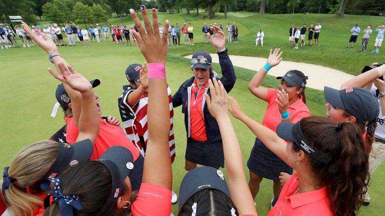 The United States have now won nine of the past 11 Curtis Cups
