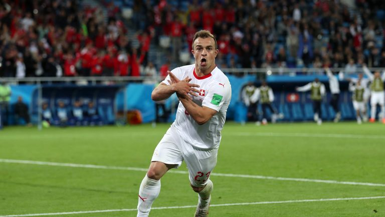 Image result for shaqiri switzerland