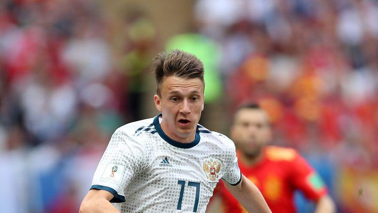 El compañero de equipo de Aleksandr Golovin ha insinuado que se dirige a Chelsea.