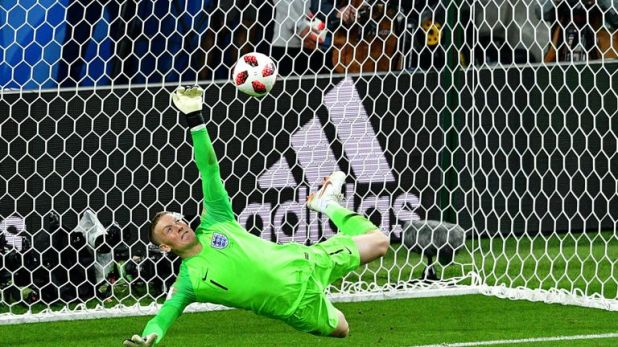 The Everton goalkeeper helped England beat Colombia on penalties