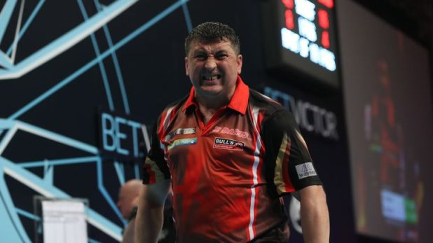 Mensur Suljovic opened his Blackpool campaign with a win