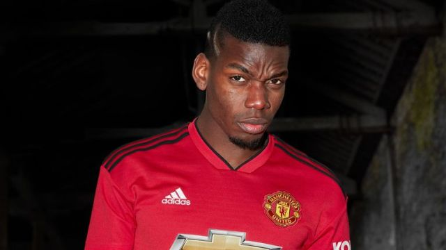 The Portuguese is happy with Paul Pogba's attitude in training