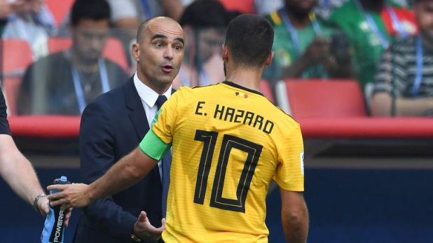 Hazard played  a key role in helping Roberto Martinez's Belgium finish third at the World Cup