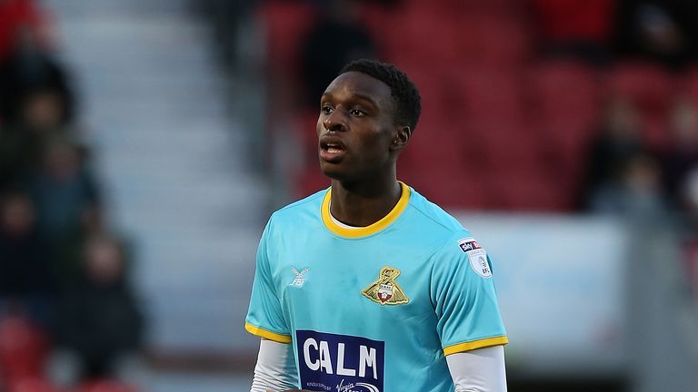 Rodney Kongolo spent last season on loan at Doncaster Rovers