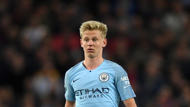 Oleksandr Zinchenko is set to leave Man City after two seasons