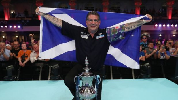 Anderson lifted his maiden World Matchplay title 12 months ago