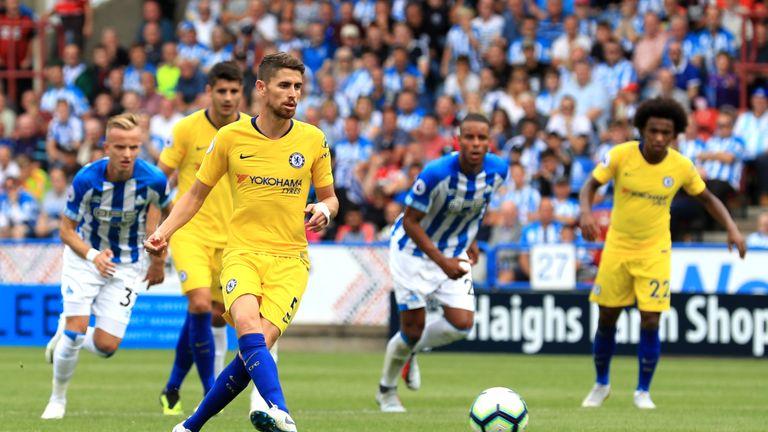 Jorginho è arrivato al Chelsea per 57 milioni questa estate