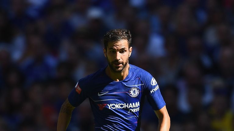 Sarri expects Cesc Fabregas to return to training within a week