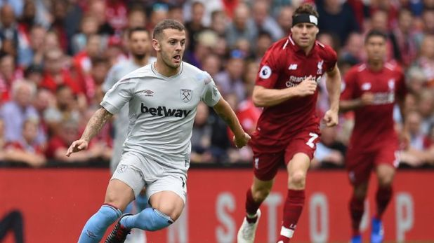 Jack Wilshere endured a difficult debut for West Ham