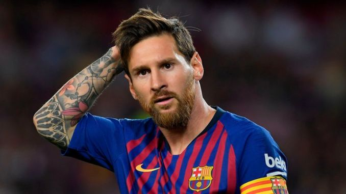 Messi says Barcelona are determined to win the Champions League