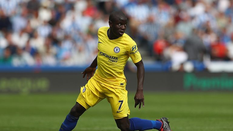 Sarri says N'Golo Kante is fully fit despite having played in the World Cup final