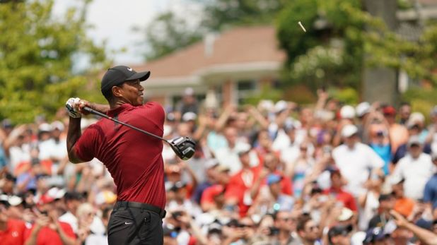 Woods has now been in contention in the last two majors