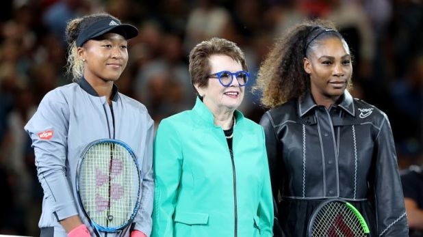 Billie Jean King supported Williams in the aftermath of the final