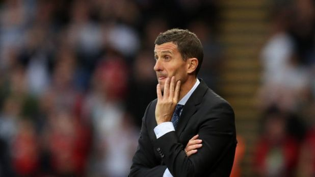 Javi Gracia believes Manchester United were better in the opening 45 minutes