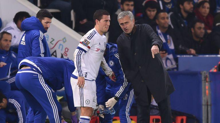 """Eden Hazard a déclaré que sa dernière saison sous la direction de Jose Mourinho n'était """"pas agréable"""""""