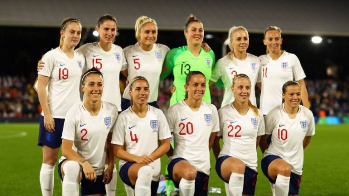 England women stand in Pot 1 at the draw for the World Cup on Saturday