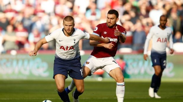 Eric Dier says spirits are high ahead of the PSV match