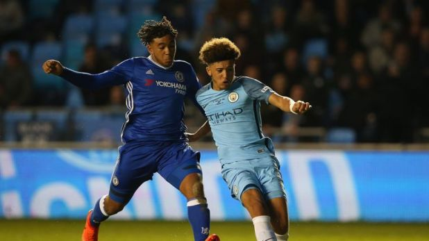 Sancho found his pathway to first-team football blocked at Manchester City