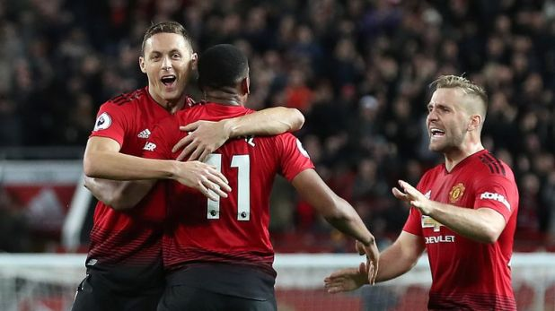 Manchester United came from 2-0 down to beat Newcastle in their last Premier League game