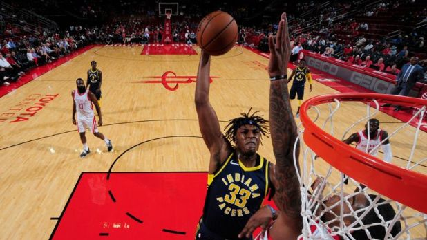 Myles Turner has averaged 12.7 points, 1.8 blocks and 6.5 rebounds in three years
