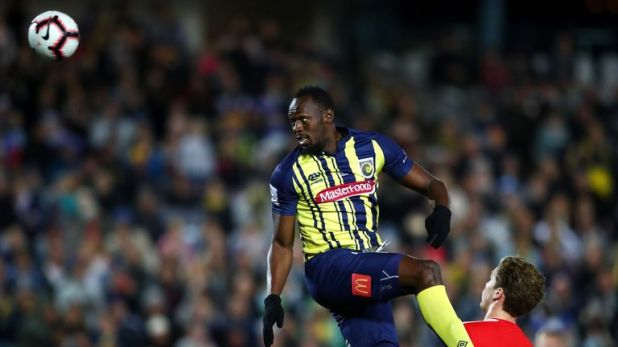 Usain Bolt says Friday's game is 'important' for his footballing future
