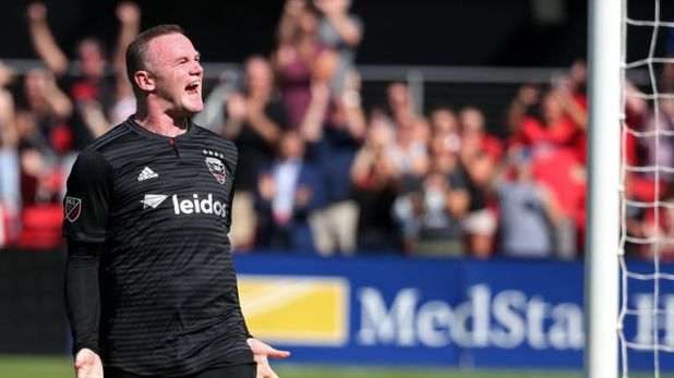 Wayne Rooney led DC United to the MLS play-offs