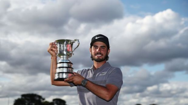 Abraham Ancer cruised to the title by five shots