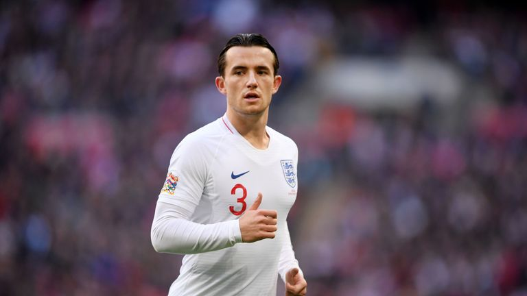 Ben Chilwell has made five England appearances since September