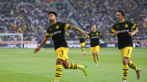 Jadon Sancho continues to showcase his ability at Dortmund