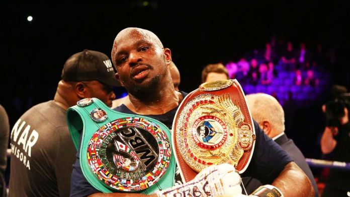Dillian Whyte was to fight Breazeale for the WBC intermediate title
