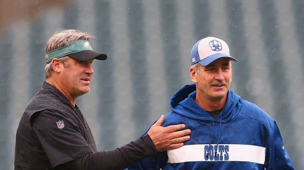 Doug Pederson's offense has suffered since Reich moved to the Indianapolis Colts