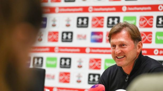 New Southampton manager Ralph Hasenhuttl during his first press conference