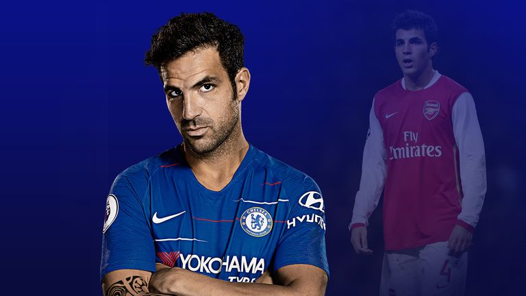 Cesc Fabregas s'est établi comme une figure clé de Chelsea et d'Arsenal