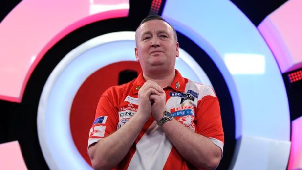 Glen Durrant will face Scott Waites as he chases a third successive Lakeside world title
