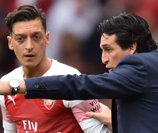 Unai Emery Says Mesut Ozil Still Has A Role To Play Over The Coming Weeks For