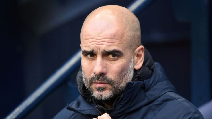 Pep Guardiola latest comment will not make Manchester City players and fans happy. skysports pep guardiola manchester city 4559453