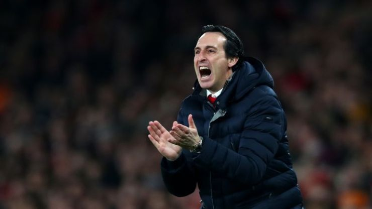 Arsenal boss Unai Emery reveales his plans for clash against Huddersfield skysports unai emery arsenal 4554621