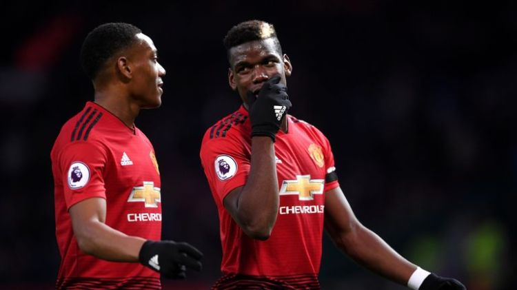 Anthony Martial has backed his club and international team-mate Paul Pogba to bring success to Manchester United
