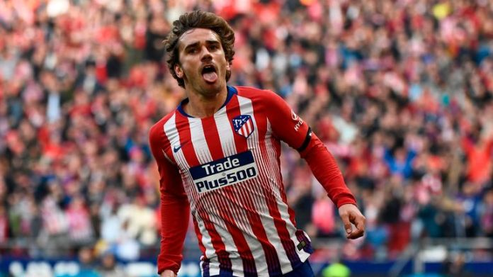 Griezmann has been at Atletico for five years