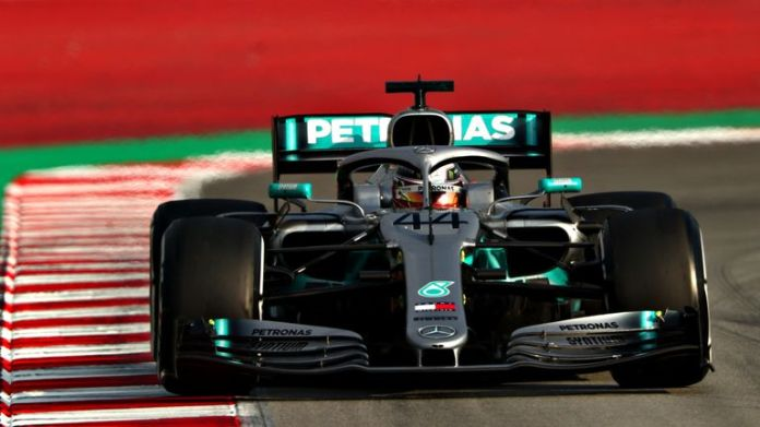 Lewis Hamilton was in second place on the hourly numbers. How often do we say this in F1 2019 ...