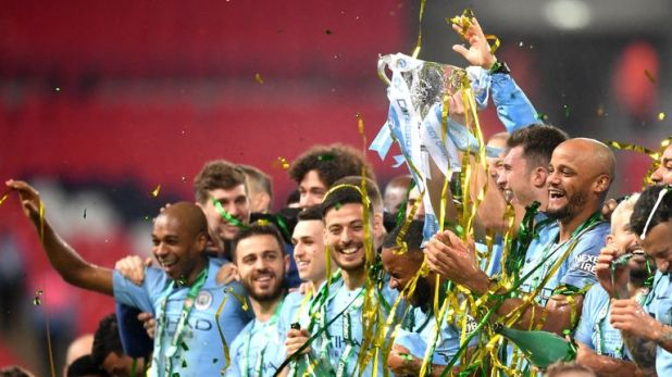 City have already lifted the Carabao Cup this season.