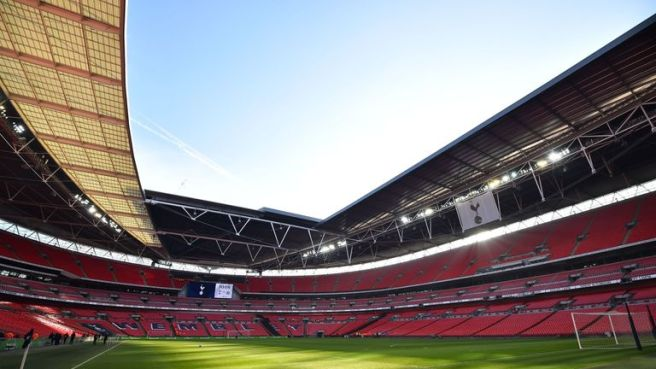 Playing at Wembley for the entire season has contributed to their profit margins
